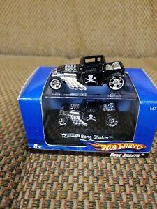 2007 HW 1:87 scale --Bone Shaker --BLACK w/ Skull --Unopened Box plus loose one