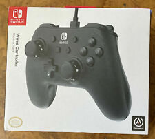 PowerA Wired Controller for Nintendo Switch Matte Black 1511370-01 Power A OEM