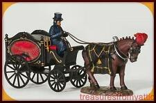 Dept 56 Halloween HORSE DRAWN HEARSE #58574 NRFB Dickens All Hallows Eve Village