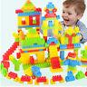 144x coloré en plastique blocs de construction enfants puzzle jouet éducatif 6H