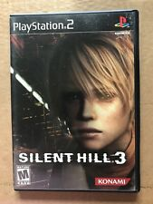 Silent Hill 3 PS2, CIB w/manual 2 disc with Soundtrack CD PlayStation2 FREE SHIP