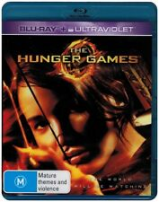 "Clearance ""THE HUNGER GAMES"" Blu-ray + UV - Region [B] NEW"