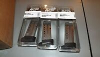 3 - Smith & Wesson - factory NEW 9mm - 8rd magazines mags for Shield 2.0  (S351)