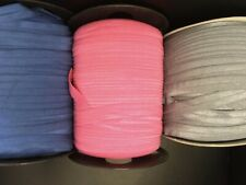 Wholesale 200 HOT Pink, gray or royal blue  Fold over FOE 5/8