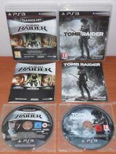 Lara Croft The Tomb Raider Trilogy (Legend,Underworld,Anniversay) + TR 2013, PS3