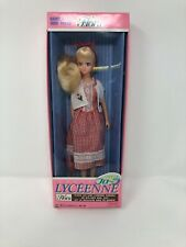 Takara Barbie Lyceenne Flora Fashion Doll Nib Rare Red Dress Mattel Japan 1985