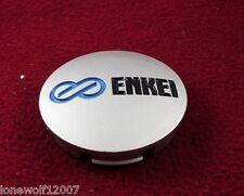 Enkei Wheels Silver Custom Wheel Center Cap ONE CAP