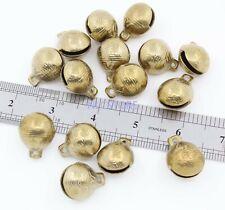 100pcs Collectibles 22mmX25mm Tibetan Brass Craft Tiger's head Bells feng shui