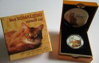 Niue 1 Dollar 2015 Katzen Somali-Katze Silber