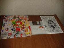 ROLLING RONNY 1992 COMMODORE AMIGA ERBE ESPAÑA COMPLETO CAJA MANUAL DISCO RARE