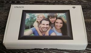 16GB LED Digital Photo Frame Wi-Fi Share Picture Video Touch Screen HD Display