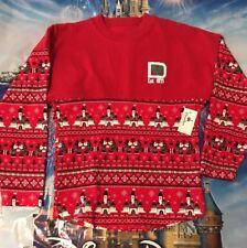NWT DISNEY PARKS  Holiday Christmas Walt Disney World SPIRIT JERSEY SZ Youth XS