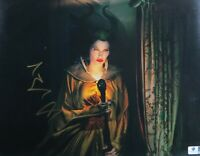 Angelina Jolie Signed Autographed 11X14 Photo Maleficent Gold Ink GV787858