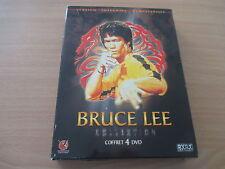 coffret 4 dvd bruce lee collection version integrale remasterisee