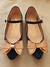 Ted Baker Velvet Shoes Size 3