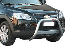 PARE BUFFLE CHEVROLET CAPTIVA 2006-2010 HOMOLOGUE INOX DIA 70mn,