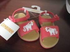 New Gymboree UNICORN GARDEN coral sandals infant toddler girls 6