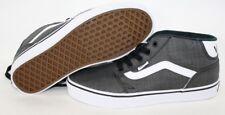NEW Mens VANS Chapman Mid Dark Grey Black White Casual Sneakers Shoes