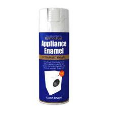 x 1 Rust-Oleum ELETTODOMESTICO Smalto spray VERNICE ultra-resistente Bianco