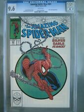 Amazing Spider-Man #301 CGC 9.6 WP Marvel Comics 1988 Silver Sable Appearance