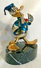 """Disney Chilmark """"The Duck"""" Donald Duck Pewter Metal Art Statue - Limited Edition"""