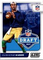 DESHONE KIZER 2017 Score NFL Draft #4 ($0.75 MAX SHIP)