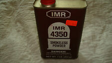Vintage Used Dupont Imr-4350 Smokeless Powder Cans. ~Empty~