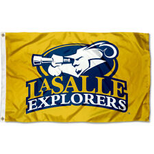 La Salle University Explorers Gold Flag 3x5 Banner
