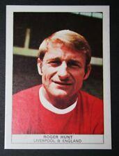 Liverpool FC  Legend  Roger Hunt Superb Original 1970 Vintage Photo Card