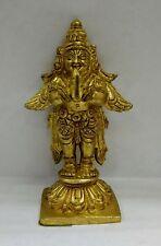 Garuda  brass Detailed statue in brass 3.5 inches hindu god Idol  USA Seller