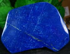 Large Blue lapis lazuli crystal mineral specimen hand polished smooth 1355 Gram