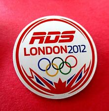 RDS (French Canada TV Station) London 2012 Media Olympic Pin