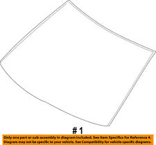 FORD OEM-Windshield Glass AA1Z7803100A