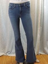 NWT J BRAND BLUE 823 BELL BOTTOM MID-RISE ICICLE JEANS 28 $216