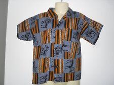 GARÇON chemise ORIGINALE taille 3 ans enfant d'été manche courte motif cerfs