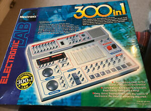 Maxitronix Electronic Lab 300 In 1. Full Kit And Substantial Instruction Manual.