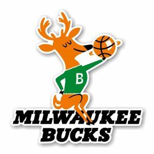 Milwaukee Bucks Retro 1993  Decal