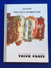 PAPER CLOUD THICK PAGES - FIRST EDITION BY WILLIAM S. BURROUGHS