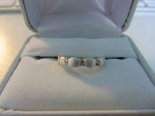 STERLING SILVER RING, SIZE 7.5