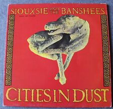 Siouxsie and the Banshees, cities in dust (extended), Maxi Vinyl