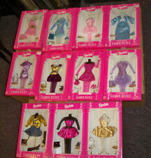 Lot of 11 Barbie Fashion Avenue outfits NRFB Beautiful lot nice clothes Mattel