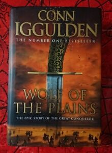 Wolf of the Plains (Conqueror, Book 1) by Conn Iggulden Hardback