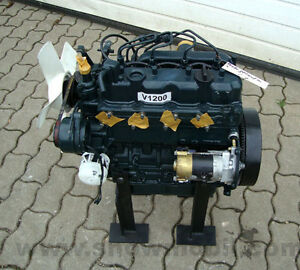 Dieselmotor Motor Kubota V1200 28,5PS 1237ccm gebraucht BHKW Diesel
