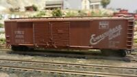 Athearn BB HO 50' Dbl Dr Boxcar, Burlington, Upgraded, Exc