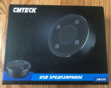 CMTECK ZM330 Speakerphone USB Microphone Speakers Omnidirectional Desktop Mic