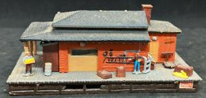 Bachmann N Scale: Work Site, Shanty Depot Loading Station, VINTAGE BUILDING