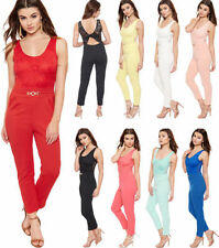 Women's Regular Polyester Floral Jumpsuits, Rompers & Playsuits