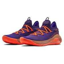 Under Armour TB Curry 6 Low Basketball Shoes Size 9.5 Orchid Purple 3022386 50