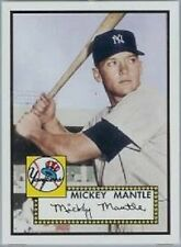 Topps Mickey Mantle #1 Rookie of The Week Baseball Card reprint of 1952 #311