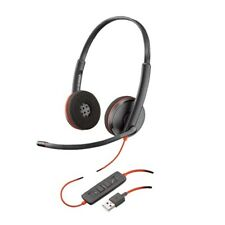 PLANTRONICS Blackwire 3220 USB-A Corded UC Stereo Headset
